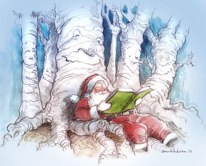 David Anderson's Christmas Forest of Reading