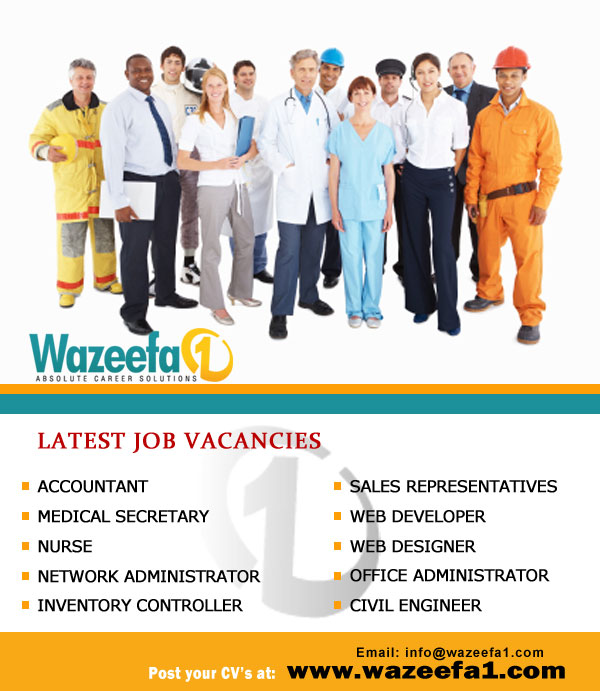 Latest Job Vacancies