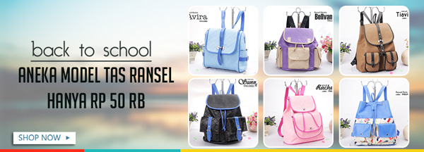 Ransel Bag @50rb