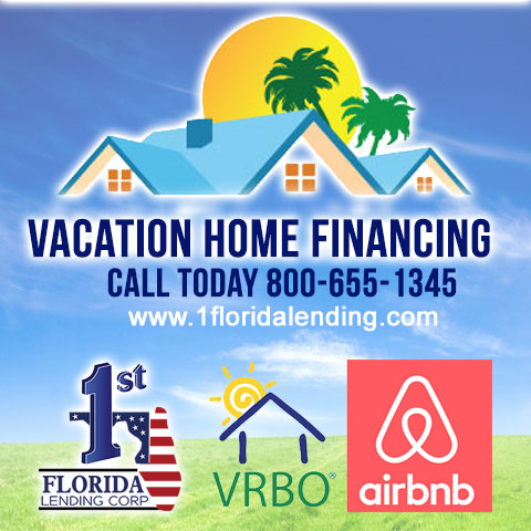 Vacation Property Financing  AIRBNB VRBO HOMEAWAY