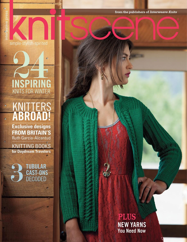 Knitscene Cover 2013